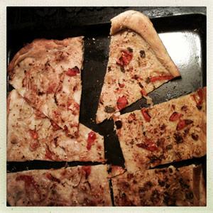 Divlja pizza i pomalo kultivirana focaccia
